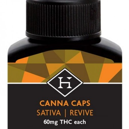 THC Hash Caps AM Sativa 60mg - 5 pack - Pill - Hashman Infused
